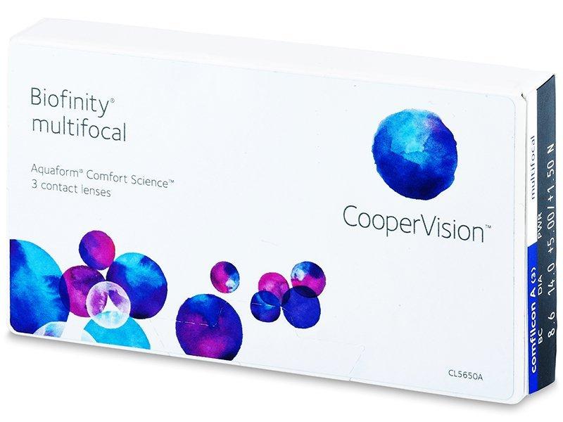Biofinity Multifocal (3läätse)