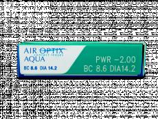 Air Optix Aqua (3läätse)