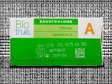 Biotrue ONEday for Astigmatism (90 läätse)