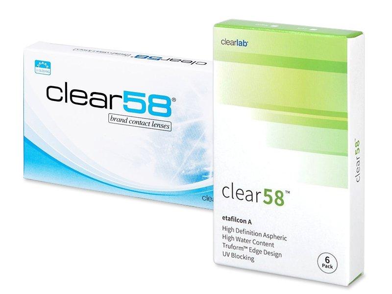 Clear 58 (6läätse)