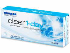 Clear 1-Day (30 läätse)