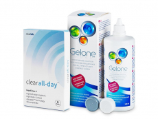 Clear All-Day (6läätse) +Gelone360ml