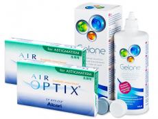 Air Optix for Astigmatism (2x3läätse) +Gelone360ml