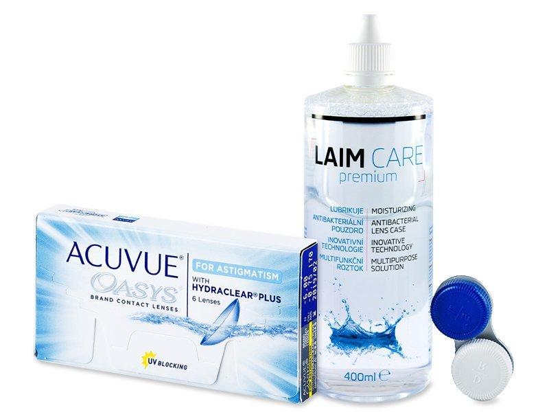 Acuvue Oasys for Astigmatism (6läätse) +Laim-Care400ml
