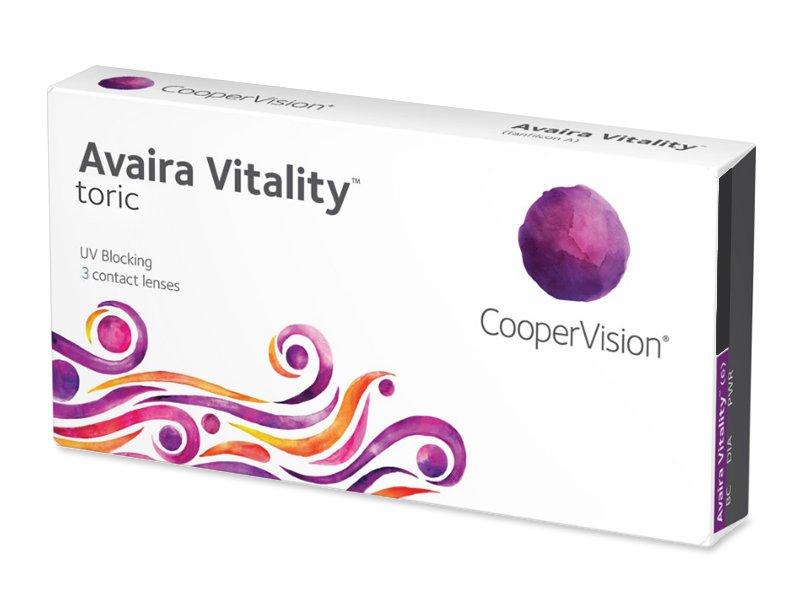 Avaira Vitality Toric (3 läätse)