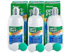 OPTI-FREE RepleniSH Läätsevedelik 3x300ml