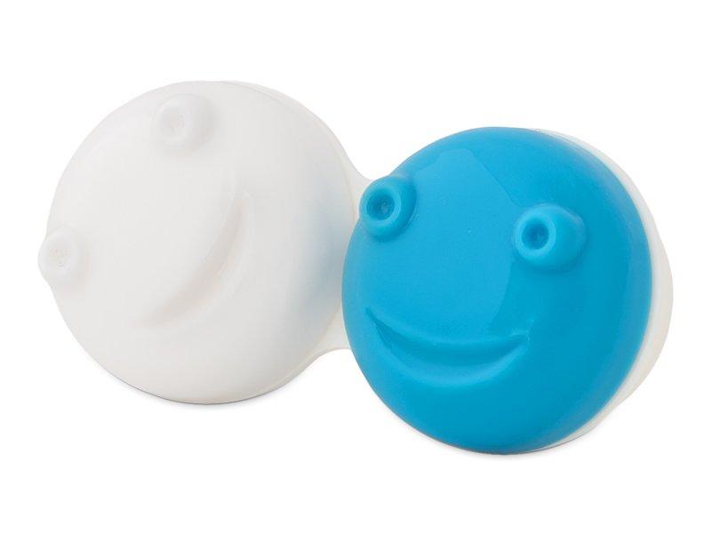 Vibreeriva läätsedekonteineri hoidmise osa - sinine