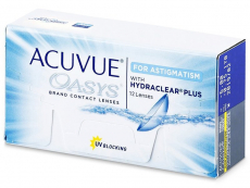 Acuvue Oasys for Astigmatism (12 läätsed)