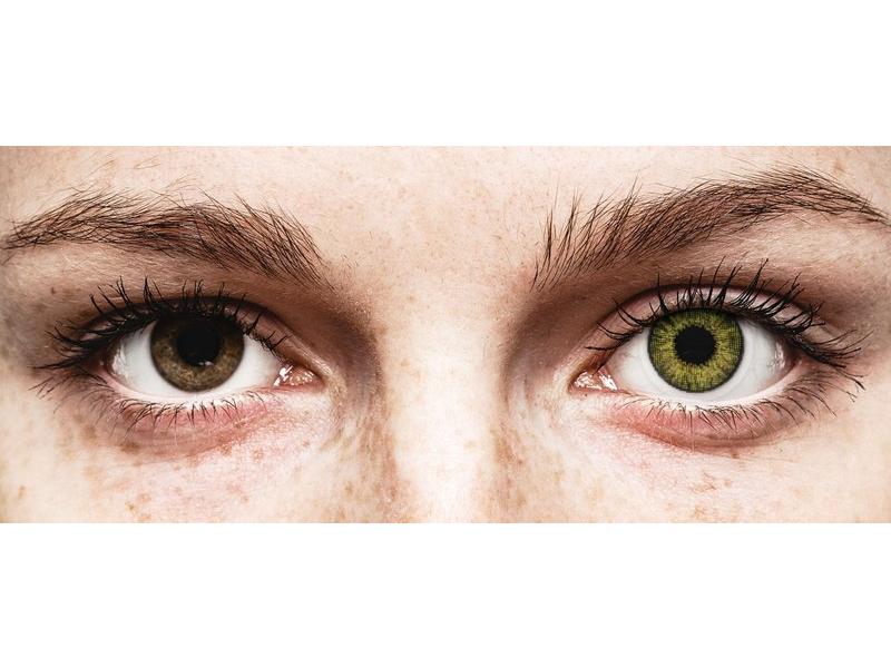 Air Optix Colors - Gemstone Green - 0-tugevusega (2läätse)