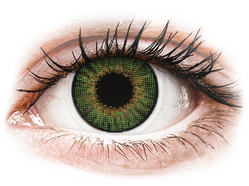 Air Optix Colors - Green - 0-tugevusega (2läätse)