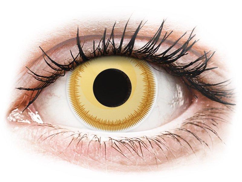 ColourVUE Crazy Lens - Avatar - 0-tugevusega (2 läätse)