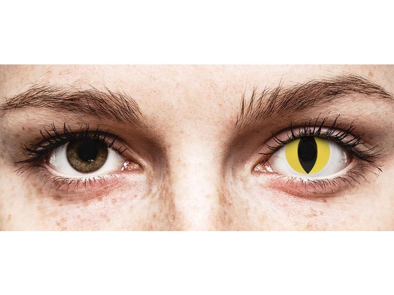 ColourVUE Crazy Lens - Cat Eye - 0-tugevusega (2 läätse)