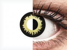 ColourVUE Crazy Lens - Eclipse - 0-tugevusega (2 läätse)