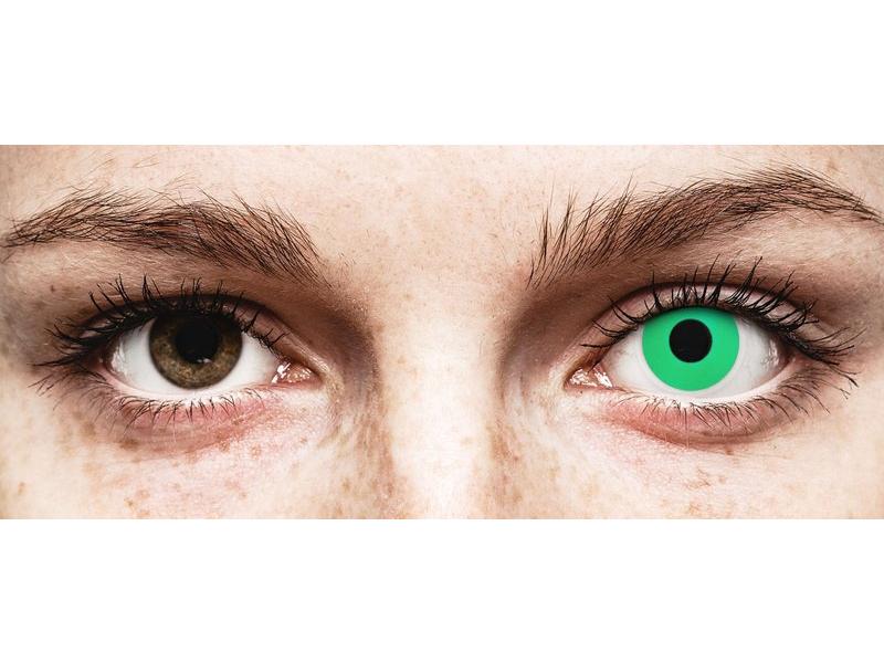 ColourVUE Crazy Lens - Emerald (Green) - 0-tugevusega (2 läätse)