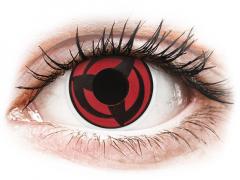 ColourVUE Crazy Lens - Kakashi - 0-tugevusega (2 läätse)