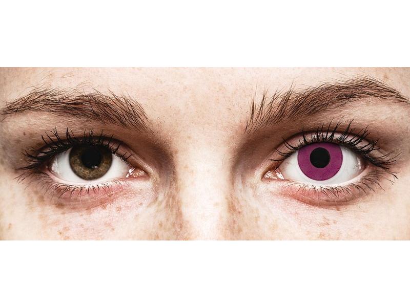 ColourVUE Crazy Lens - Purple - 0-tugevusega (2 läätse)