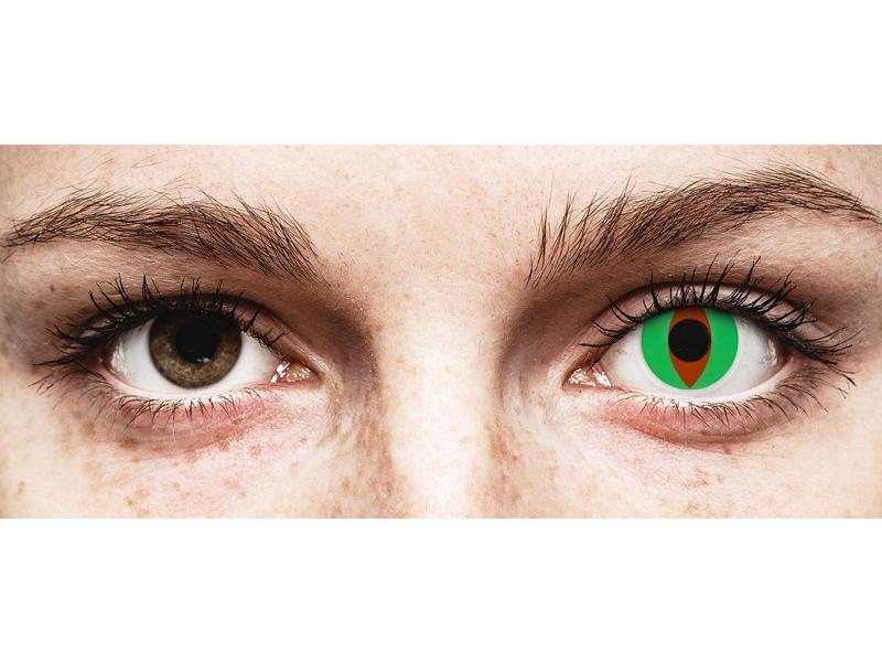 ColourVUE Crazy Lens - Raptor - 0-tugevusega (2 läätse)