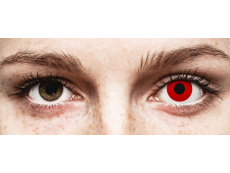 ColourVUE Crazy Lens - Red Devil - 0-tugevusega (2 läätse)
