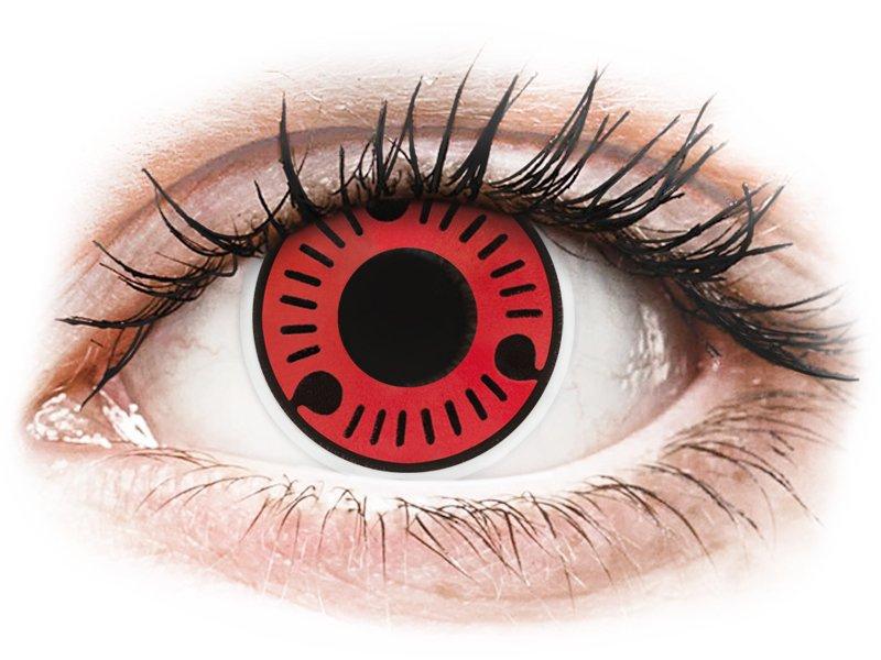 ColourVUE Crazy Lens - Sasuke - 0-tugevusega (2 läätse)