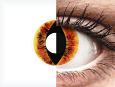 ColourVUE Crazy Lens - Saurons Eye - 0-tugevusega (2 läätse)