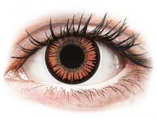 ColourVUE Crazy Lens - Vampire - 0-tugevusega (2 läätse)