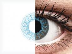 ColourVUE Crazy Lens - Solar Blue - Korrigeerivad (2 läätse)