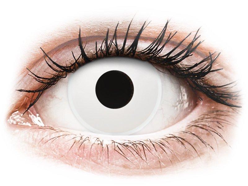 ColourVUE Crazy Lens - WhiteOut - Korrigeerivad (2 läätse)