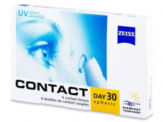 Carl Zeiss Contact Day 30 Spheric (6läätse)