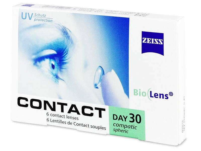 Carl Zeiss Contact Day 30 Compatic (6 läätse)