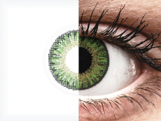 TopVue Color daily - Green - 0-tugevusega (10läätse)
