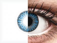 TopVue Color daily - Sapphire Blue - 0-tugevusega (10läätse)