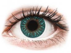 TopVue Color - Turquoise - Korrigeerivad (2 läätse)