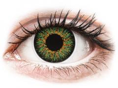 ColourVUE Glamour Green - 0-tugevusega (2läätse)