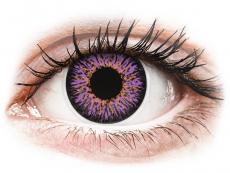 ColourVUE Glamour Violet - 0-tugevusega (2läätse)