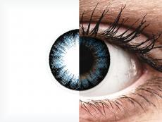 ColourVUE BigEyes Cool Blue - 0-tugevusega (2läätse)