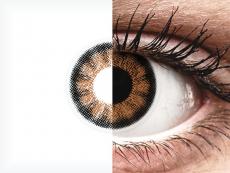 ColourVUE BigEyes Sexy Brown - 0-tugevusega (2läätse)