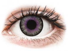 ColourVUE Fusion Violet Gray - 0-tugevusega (2läätse)