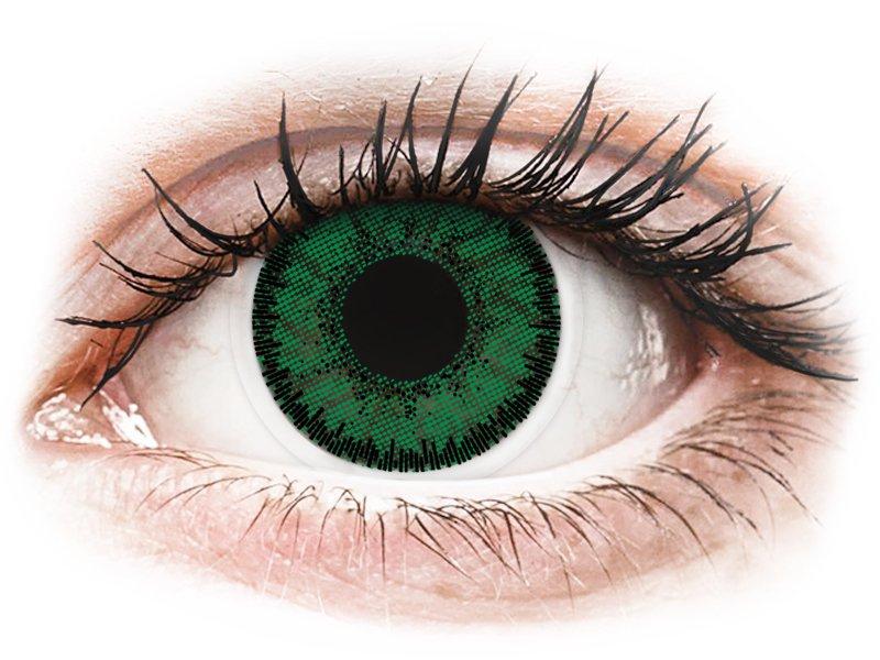 SofLens Natural Colors Emerald - 0-tugevusega (2 läätse)