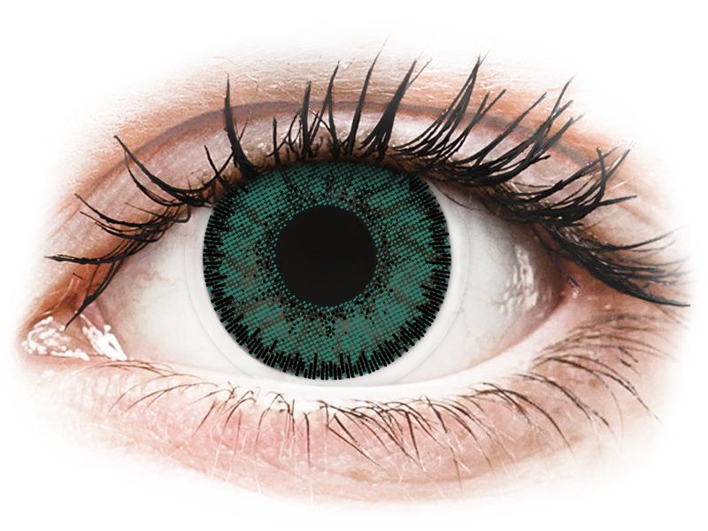 SofLens Natural Colors Jade - 0-tugevusega (2 läätse)