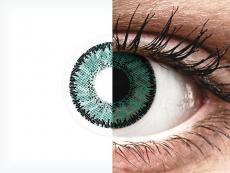 SofLens Natural Colors Jade - Korrigeerivad (2 läätse)