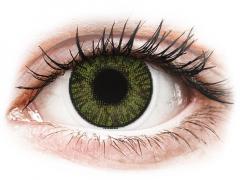 FreshLook ColorBlends Green - 0-tugevusega (2 läätse)