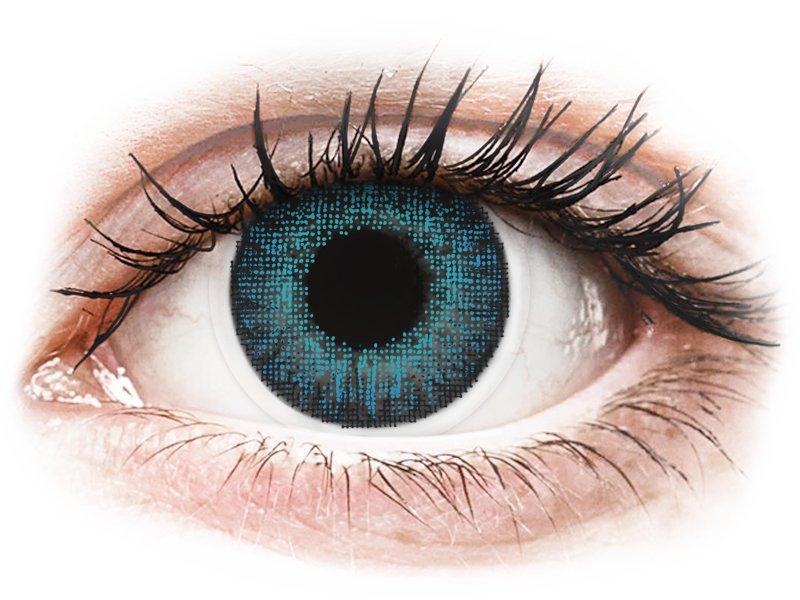Air Optix Colors - Brilliant Blue - 0-tugevusega (2läätse)