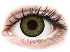 FreshLook One Day Color Green - 0-tugevusega (10 läätse)