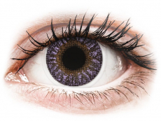 TopVue Color - Violet - 0-tugevusega (2 läätse)