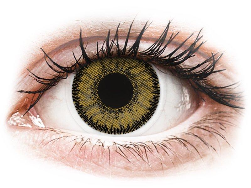 SofLens Natural Colors Dark Hazel - Korrigeerivad (2 läätse)