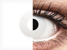 ColourVUE Crazy Lens - Whiteout - Ühepäevased läätsed 0-tugevusega (2 läätse)