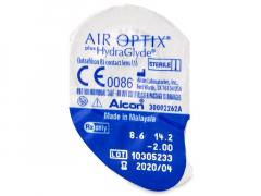 Air Optix plus HydraGlyde (1 lääts)