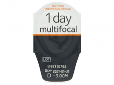 Proclear 1 Day Multifocal (30 läätse)