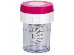 Twist Top läätsekonteiner - roosa