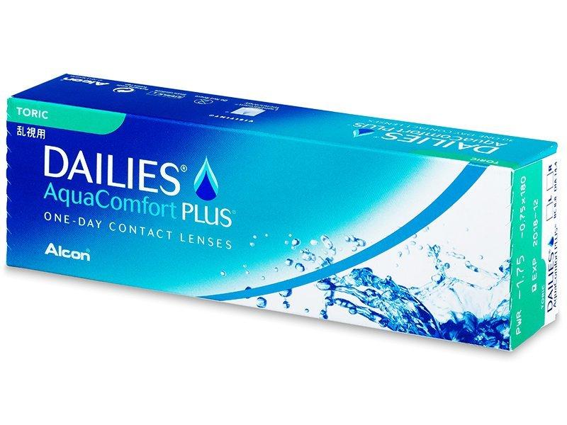 Dailies AquaComfort Plus Toric (30läätse)